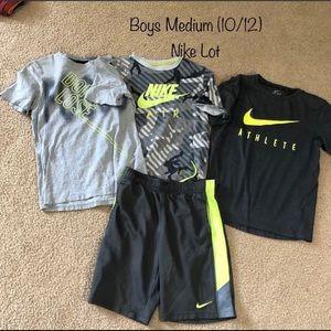Boys M (10/12) Nike Lot